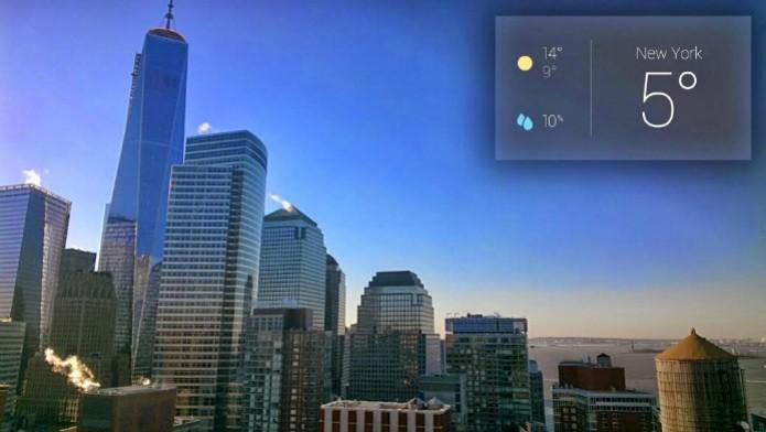 Imagem registrada pelo Google Glass (Foto: Márcio Cyrillo/ TechTudo)
