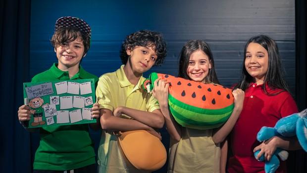 Elenco escolhido para dar vida aos personagens da Turma da Mônica no filme Turma da Mônica - Laços, com estreia prevista para julho de 2018 (Foto: divulgação)
