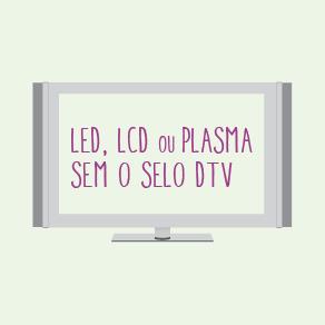TV sem selo DTV (Foto: Divulgação/ TV Gazeta)