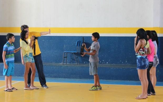 Produtor audiovisual Leonardo Mancini foi o convidado desta edição (Foto: Katiúscia Monteiro/ Rede Amazônica)