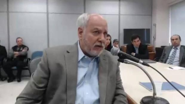Ex-diretor da Petrobras Renato Duque presta depoimento a juiz Sergio Moro (Foto: Reprodução/YouTube)