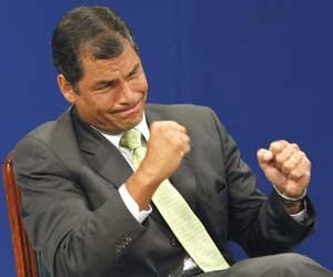 Rafael Correa (Foto: Dolores Ochoa / AP Photo)