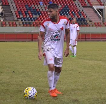 Sandro, atacante Rio Branco-AC (Foto: Duaine Rodrigues)