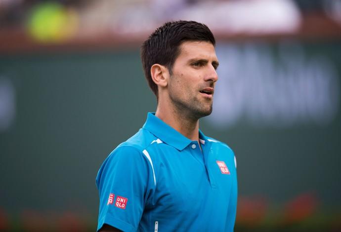 Novak Djokovic demorou para embalar, mas conseguiu vitória sobre americano (Foto: Getty Images)