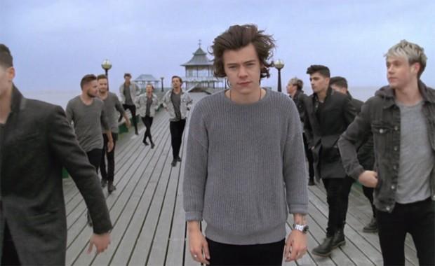 One Direction no clipe de 'You and I', lançado nesta sexta-feira (18) (Foto: Divulgação)