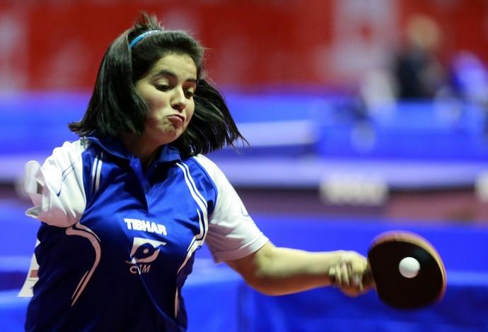 Bruna Alexandre, tênis de mesa paralímpico (Foto: Divulgação)