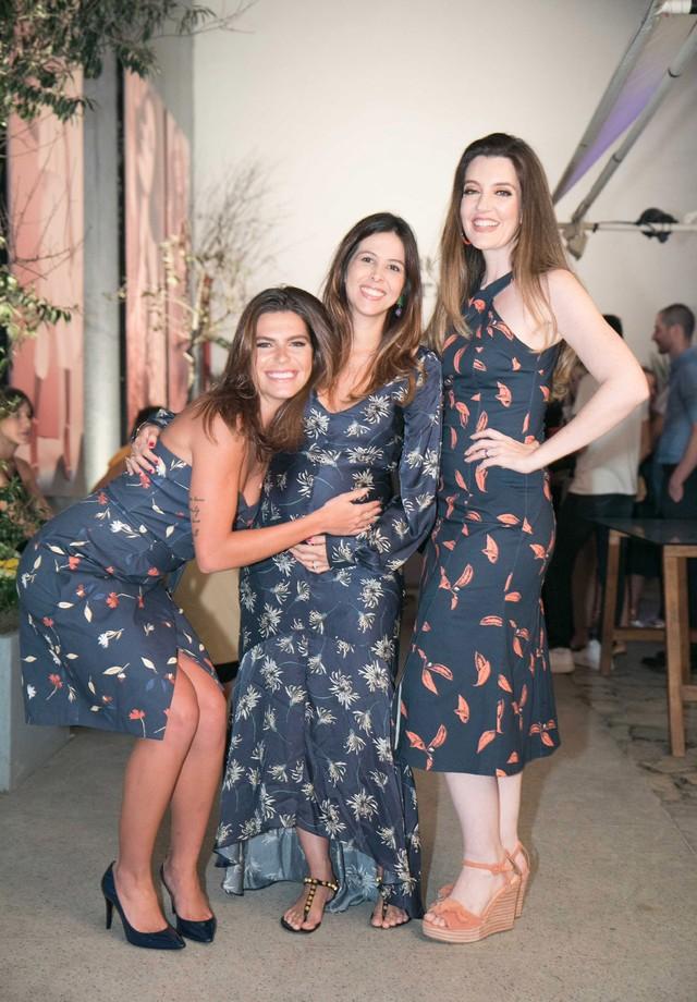 Mariana Goldfarb, Roberta Ribeiro Fuser e Larissa Maciel (Foto: Divulgação)