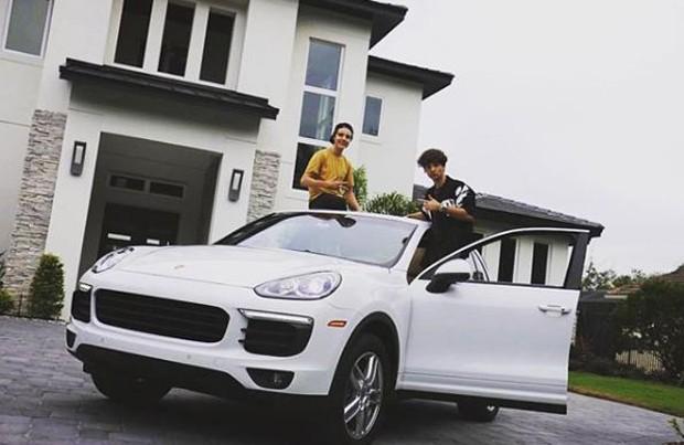 João Augusto Liberato e Luca Soares Galvão Bueno (Foto: Reprodução/Instagram)