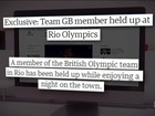 Após assalto, atletas britânicos são orientados a não sair da vila, diz jornal