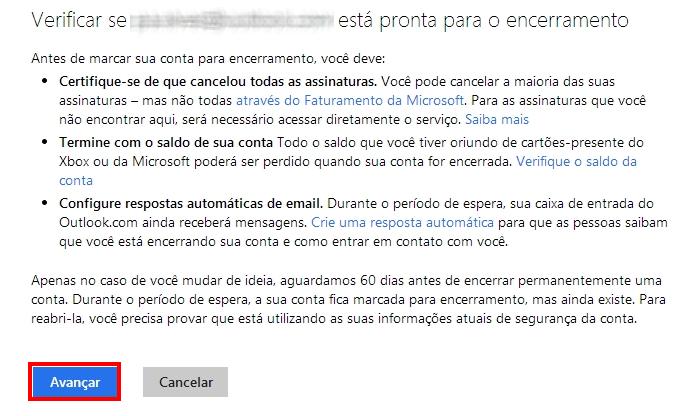 Verifique se o e-mail está certo e avance (Foto: Reprodução/Paulo Alves)