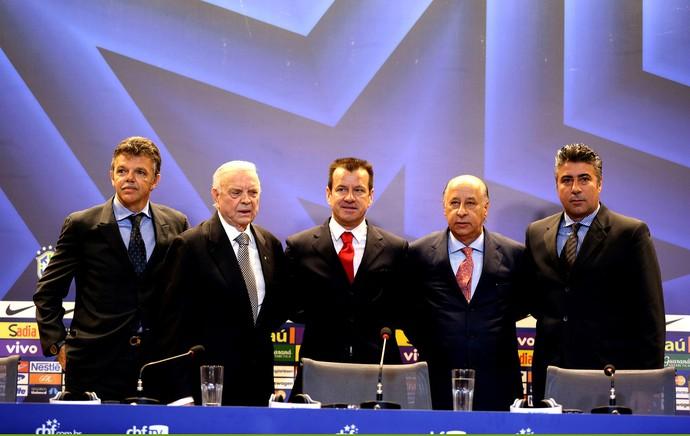 Dunga Brasil apresentação (Foto: André Durão / Globoesporte.com)