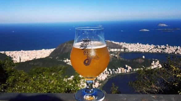 Cerveja da marca carioca Praya (Foto: Reprodução / Instagram)