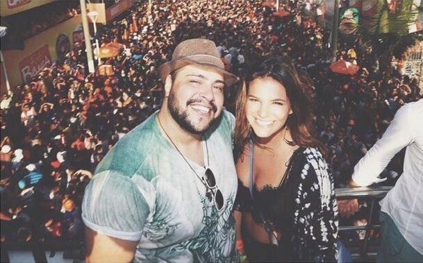 Tiago e Bruna (Foto: Reprodução/Instagram)