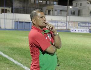 Wagner Santos lamenta a derrota. (Foto: Valdivan Veloso / Globoesporte.com)