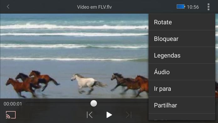 Wondershare Player permite abrir FLV no celular, usar legenda e fazer streaming (Foto: Reprodução/Barbara Mannara)