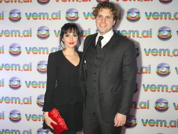 Mariana Vaz e Thiago Fragoso (Foto: Divulgação)