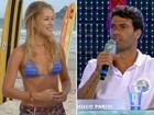 Sintonia além das piscinas! Rhaísa Batista engata namoro com Hugo Parisi