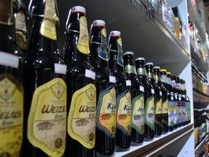 Minas Gerais é o segundo maior estado produtor de cerveja, cervejas artesanais, Sul de Minas (Foto: Daniela Ayres/ G1)
