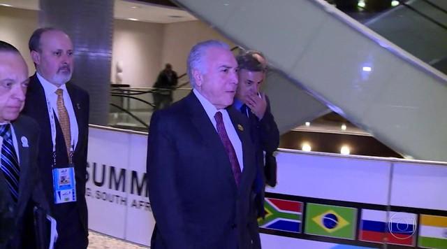 Reunião do BRICS termina com recado contra o protecionismo comercial