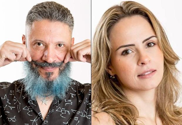 Laércio e Ana Paula (Foto: Globo - Reprodução/Facebook)