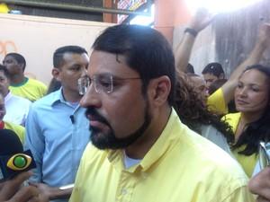 Camilo Capiberibe é candidato a reeleição pelo PSB (Foto: Dyepeson Martins/G1)