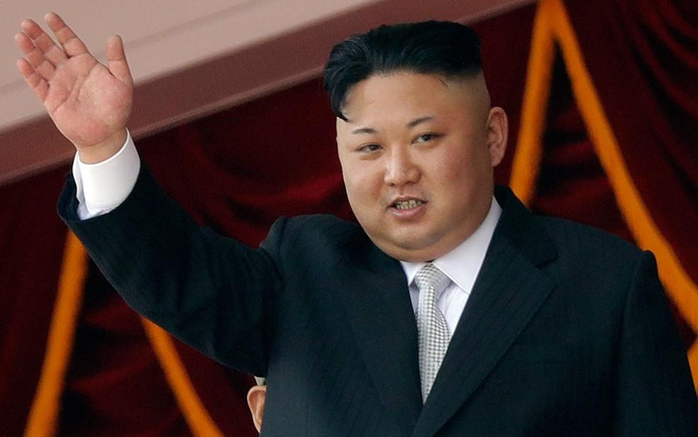 O líder norte-coreano Kim Jong-un (Foto: Wong Maye-E / AP Photo)