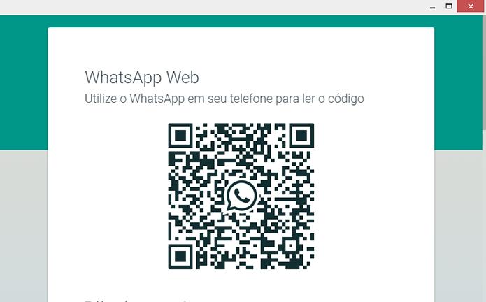 Conecte ao seu WhatsApp Web usando o celular (Foto: Reprodução/Paulo Alves)