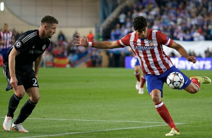 Diego Costa Atlético de Madri x Chelsea (Foto: Reuters)