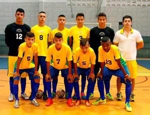 Seleção Brasileira de Futsal está na final dos Jogos Sul-americanos Escolares em Aracaju (Foto: Divulgação)