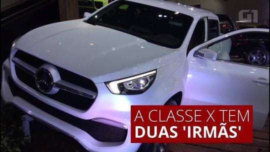 Mercedes leva conceito de picape para o Salão de Buenos Aires