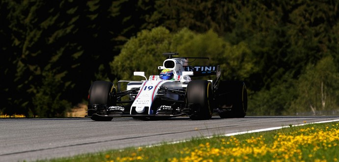 Felipe Massa no GP da áustria (Foto: Getty Images)