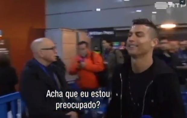"""BLOG: Cristiano Ronaldo ironiza acusações de evasão fiscal: """"Quem não deve não teme"""""""