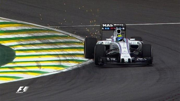 Felipe Massa GP Brasil F1 (Foto: Reprodução/ Globoesporte.com)