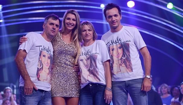 Tatiele Big Brother (Foto: Camila Serejo / TV Globo)