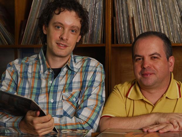 """Vincent Villaru e Guilherme Bryan, apaixonados por trilhas sonoras, se uniram para escrever """"Teletema"""" (Foto: Foto: Divulgação)"""