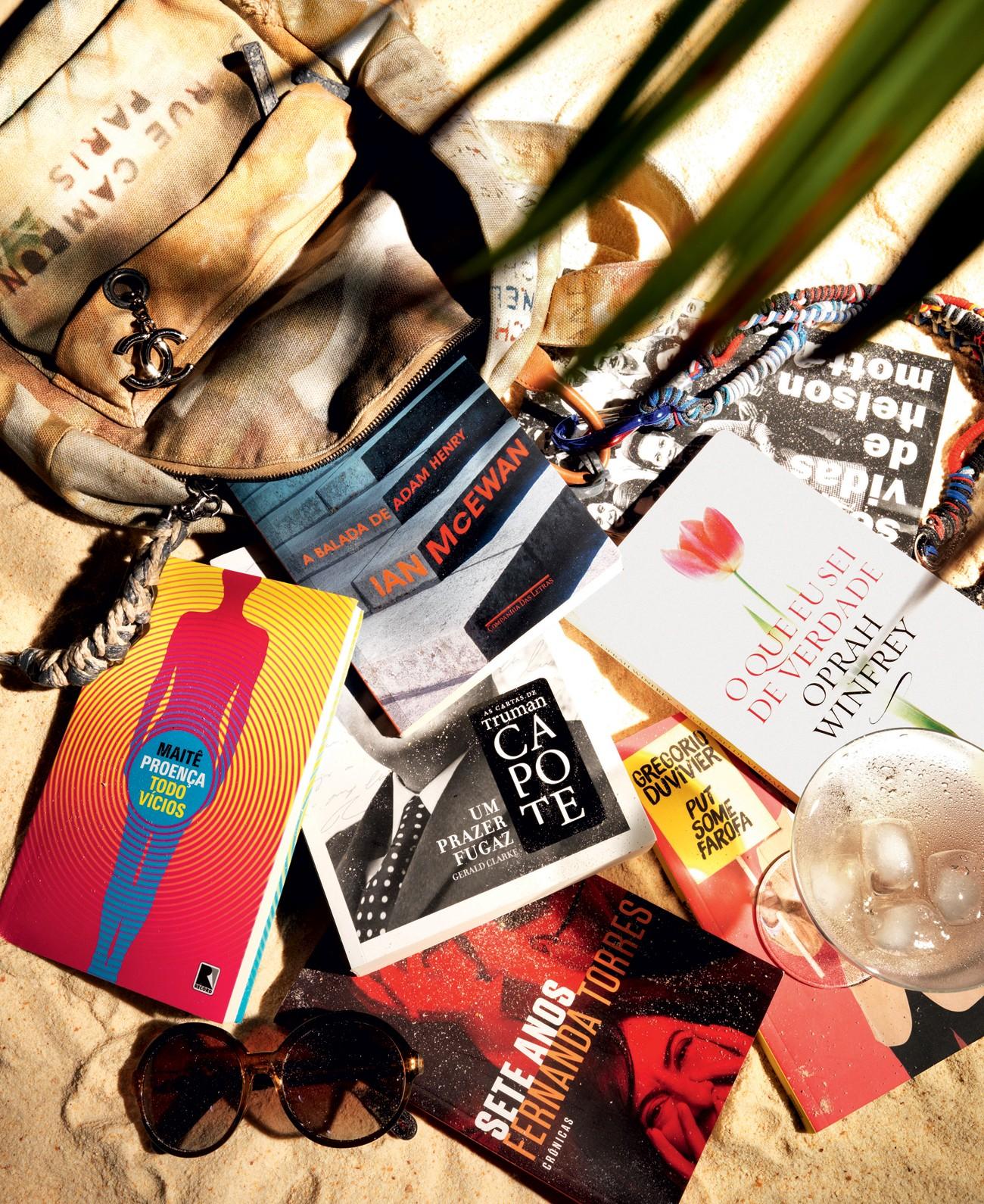Leitura de verão: escolha um livro para ser seu companheiro nas férias