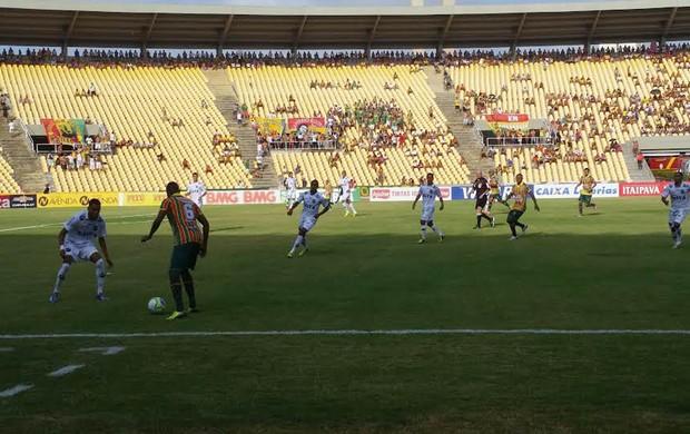 Sampaio x ABC no Castelão pela Série B do Campeonato Brasileiro (Foto: Bruno Alves/Globoesporte.com)