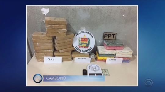 Seis são presos suspeitos de envolvimento com tráfico em SC