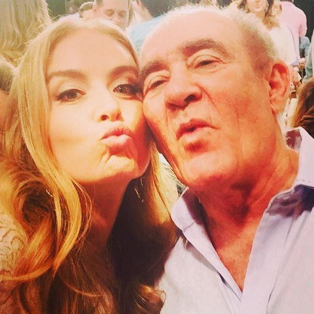 Angélica e Renato Aragão  (Foto: Instagram/Reprodução)