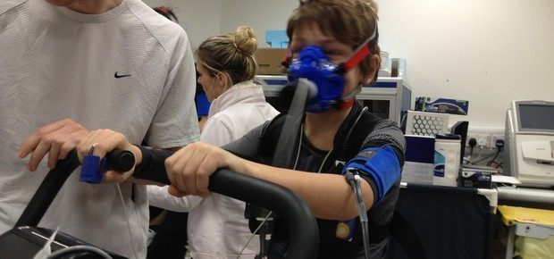 Jack realizando testes antes de participar do desafio (Foto: divulgação)