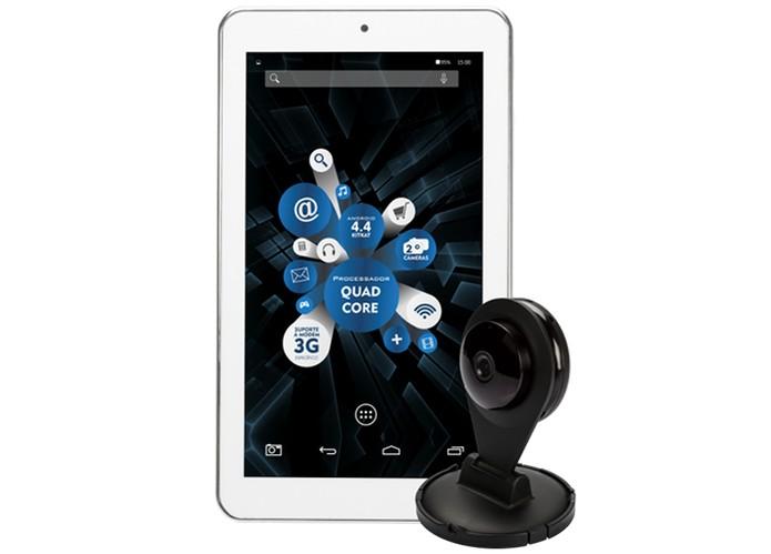 Novo TabCam da DL oferece conexão com câmera IP para segurança ou babá eletrônica (Foto: Divulgação/DL)