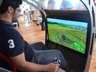 Projeto de trator do futuro é controlado como videogame