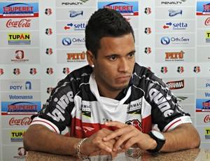 Leandro Oliveira - Santa Cruz (Foto: Pedro Costa/Globoesporte.com/PE)