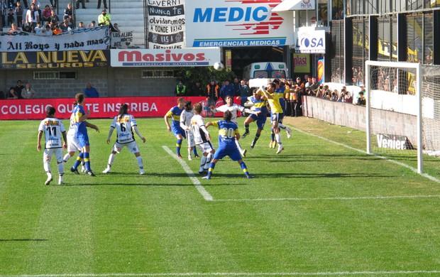 Jogo Boca Juniors 2 (Foto: Alexandre Lozetti)