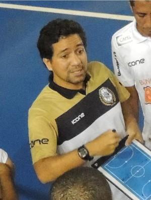 Carlos Henrique Simões, treinador do Rio Branco Futsal (Foto: Divulgação/Rio Branco Futsal)