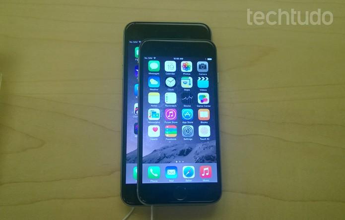 iPhone 6 Plus 14 (Foto: Elson de Souza/TechTudo)