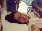 Kyra Gracie fala sobre nascimento da filha: 'Muito linda e cheia de saúde'