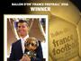 Quatro vezes o melhor: CR7 ganha a Bola de Ouro da France Football