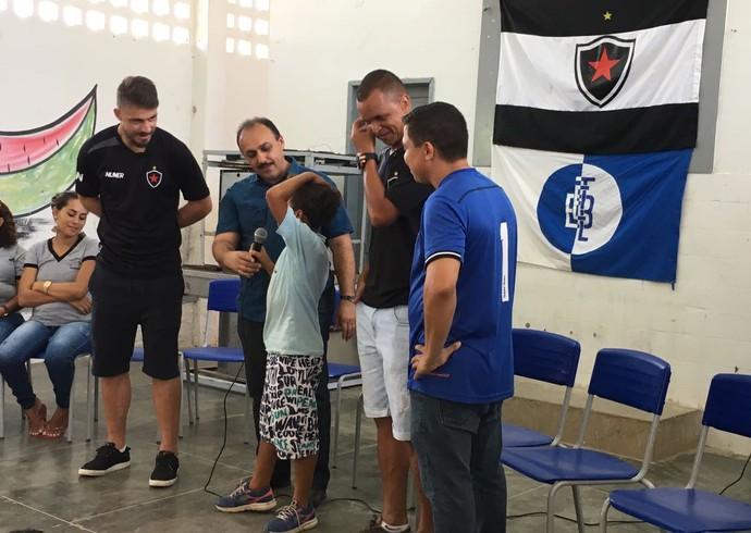 a54d0f2cf5 Botafogo-PB lança Projeto Belo nas Escolas em colégio da rede estadual