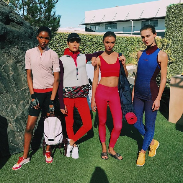 Looks da nova coleção Adidas by Stella McCartney (Foto: Larissa Gargaro)